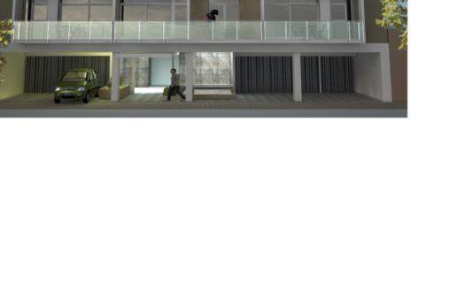 Edificio de categoria de 2 y 3 ambientes.